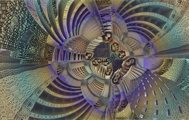 Обои абстракция, Fractal, форма. Абстракции foto 16