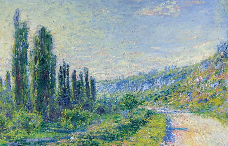Обои Клод Моне, Пейзаж, картина. Разное foto 7