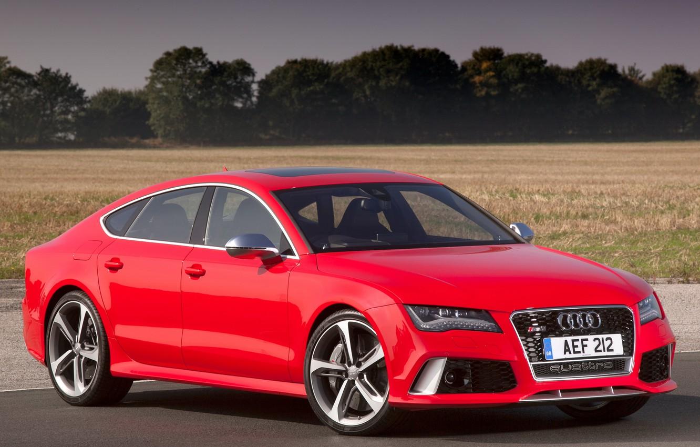 Фото обои Audi, Sportback, RS7