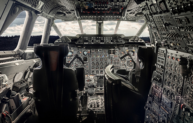 Обои приборы, Самолёт, кабина. Авиация foto 6