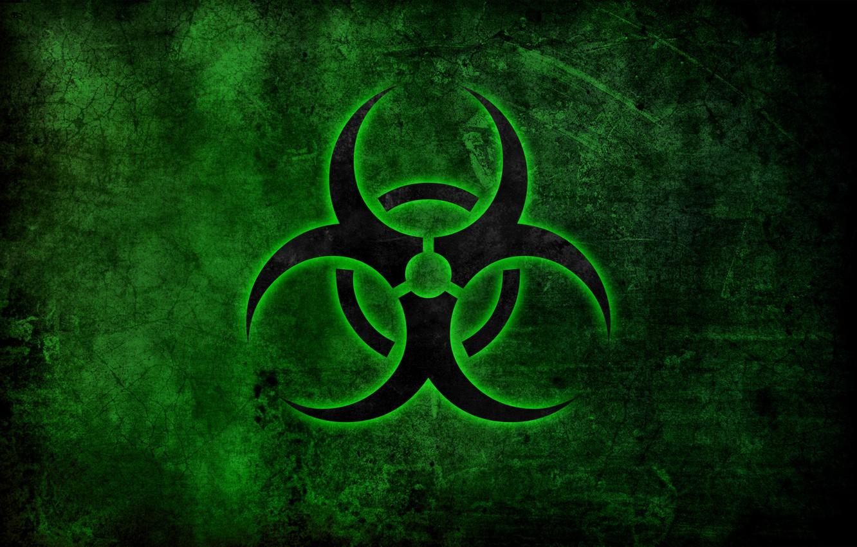 Обои эмблема, биологическое заражение, знак, опасность. Разное foto 6