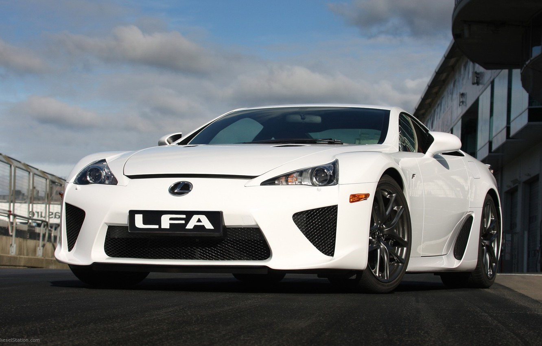 Фото обои Lexus, track, lfa