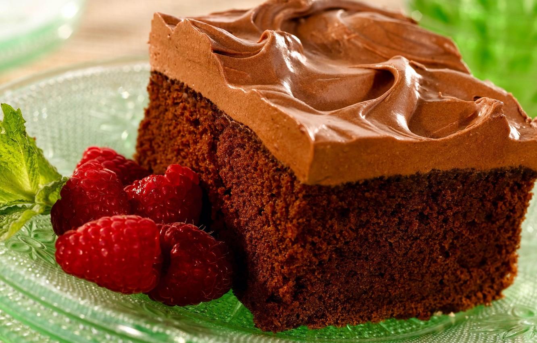 Фото обои зелень, ягоды, малина, еда, шоколад, тарелка, пирожное, крем, десерт, вкусняшка, вкусно, ням-ням )))