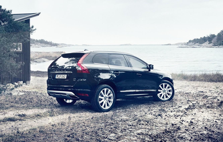 Фото обои Volvo, Берег, Вольво, XC60