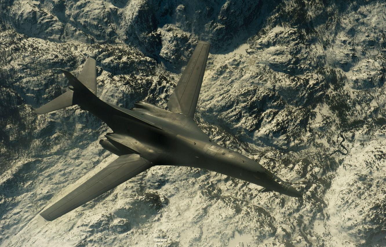 Обои сверхзвуковой, B-1b, стратегический. Авиация foto 16