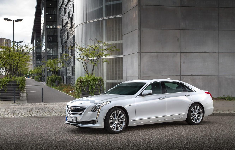 Фото обои Cadillac, седан, кадиллак, CT6