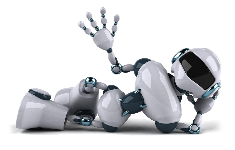 Фото обои игрушка, робот, позитив, белый фон, Андроид, жест