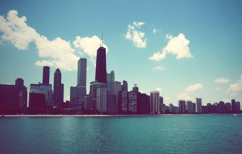 Обои небоскребы, мичиган, chicago, чикаго, иллиноис. Города foto 18