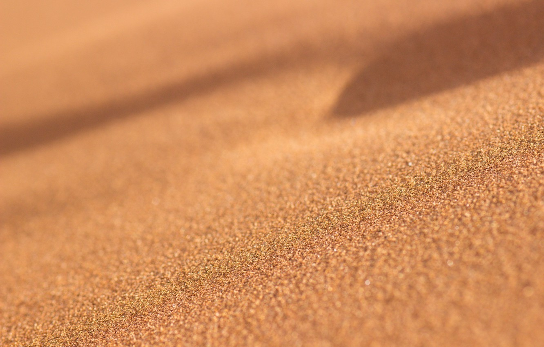 Фото обои песок, макро, пустыня, песчинки