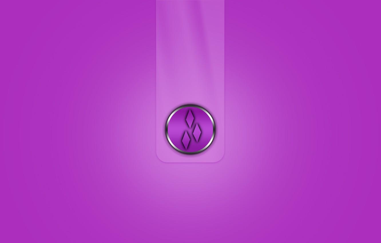 Фото обои полоса, эмблема, объем, ромб