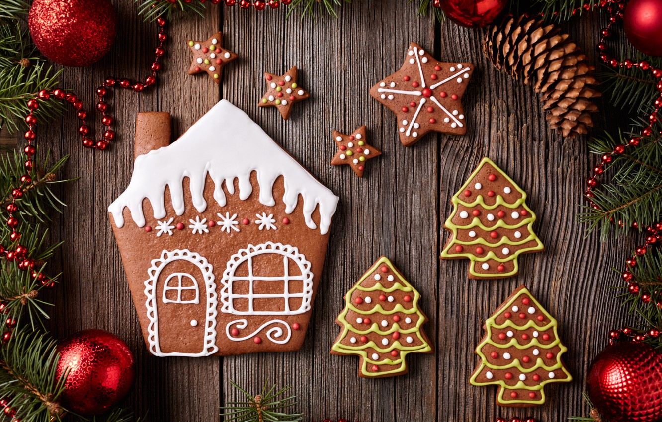 Обои christmas, cookies, decoration, рождество, xmas, Merry. Новый год foto 6