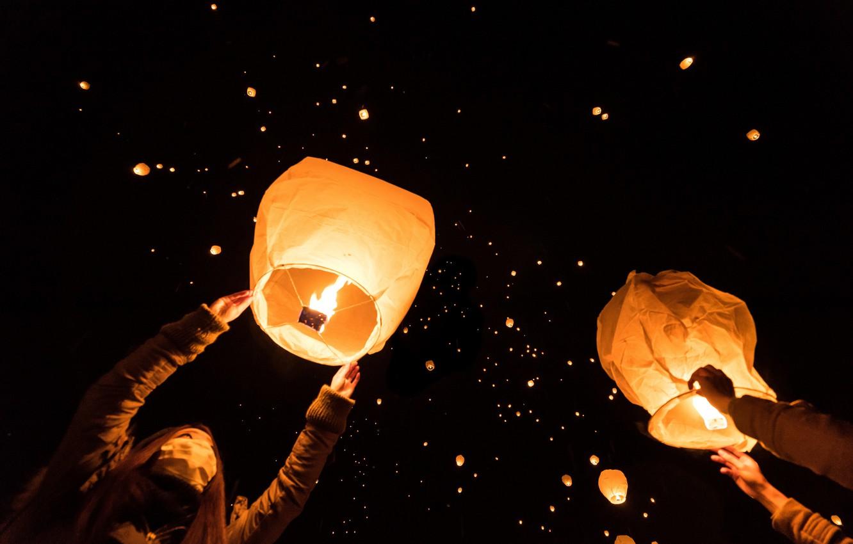 Обои candle, Festival, balloon, Lamp. Праздники foto 19