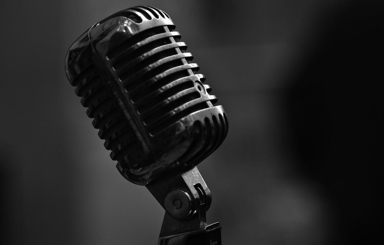 Обои микрофон, стиль, музыка. Музыка foto 6
