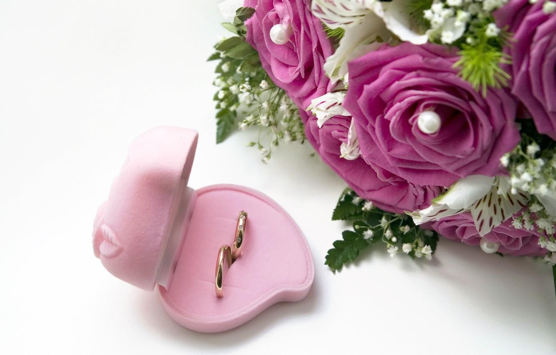 этой букет цветов с кольцом фото внимание