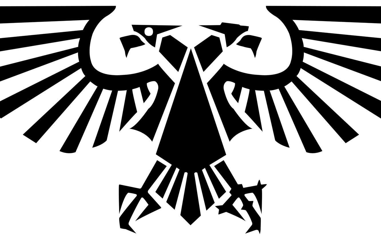 Фото обои Warhammer 40000, two-headed eagle, imperial eagle