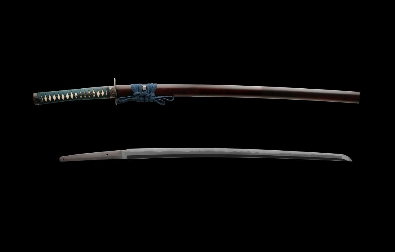 Фото обои япония, меч, катана, самурай