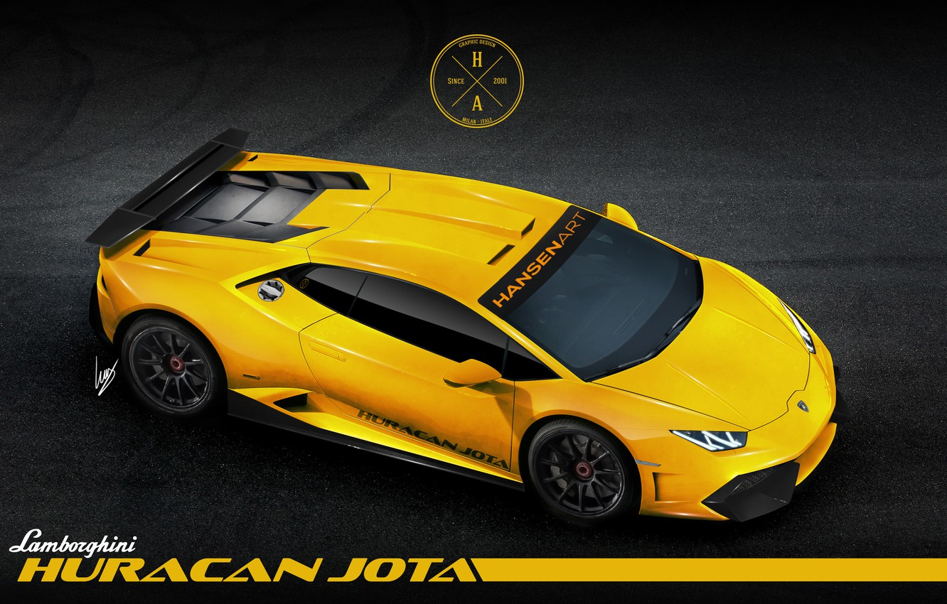 Обои wheels, Lamborghini, supercar, yellow, lp610-4. Автомобили foto 14