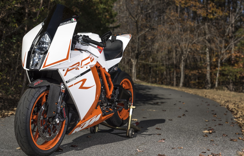 Фото обои дорога, дизайн, мотоцикл, спортбайк, KTM RC8R