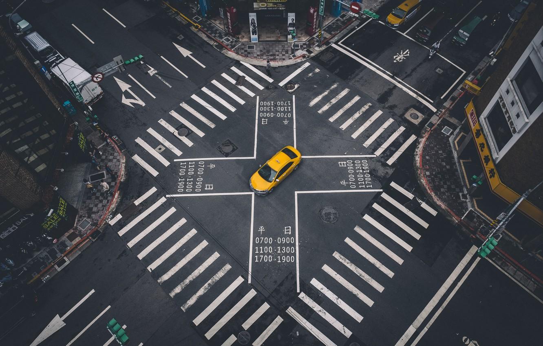 Обои дороги, машины, перекрёстки. Разное foto 7