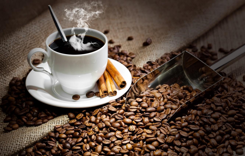 Обои кофе, зерна, стол, ложка. Разное foto 12