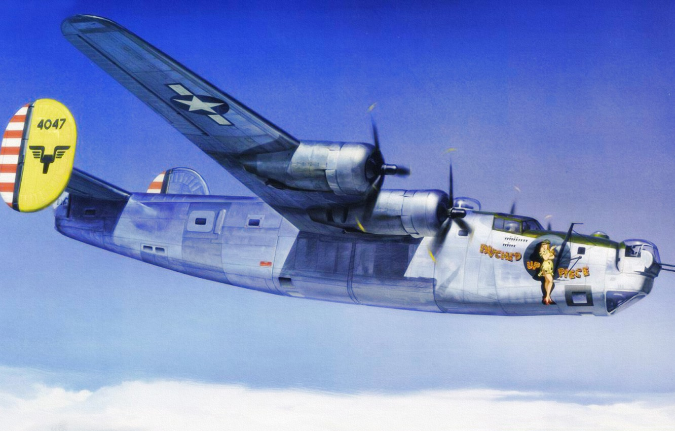 Обои war, Consolidated pby catalina, ww2, painting, aviation. Авиация foto 7
