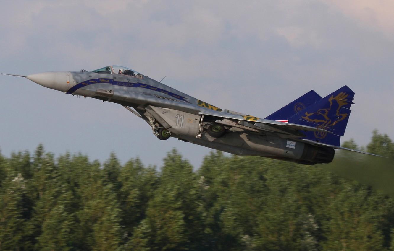 Обои МиГ-29М, ВВС Польши, многофункциональный истребитель. Авиация foto 15