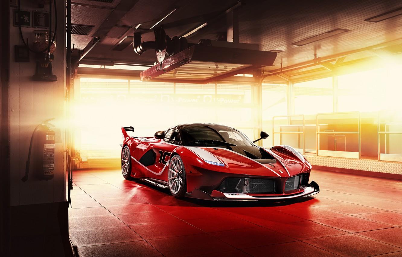 Фото обои Ferrari, суперкар, феррари, 2015, FXX K