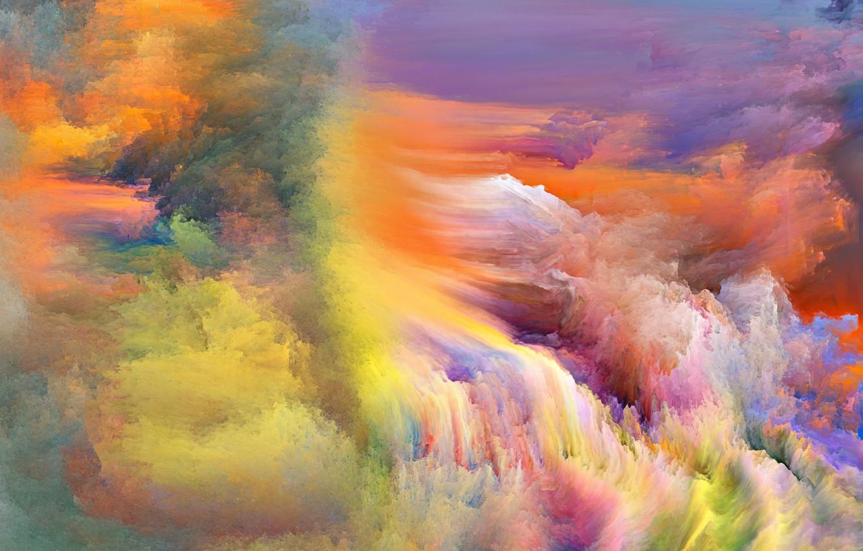 Обои яркость, Цвет, дым. Абстракции foto 14