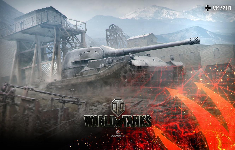 Фото обои WoT, World of Tanks, Мир Танков, Wargaming Net, Тяжёлый Танк, Вторая Кампания, Глобальная Карта, VK …
