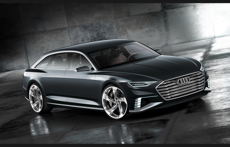 Фото обои Concept, серый, Audi, ауди, Avant, 2015, Prologue, авант, пролог