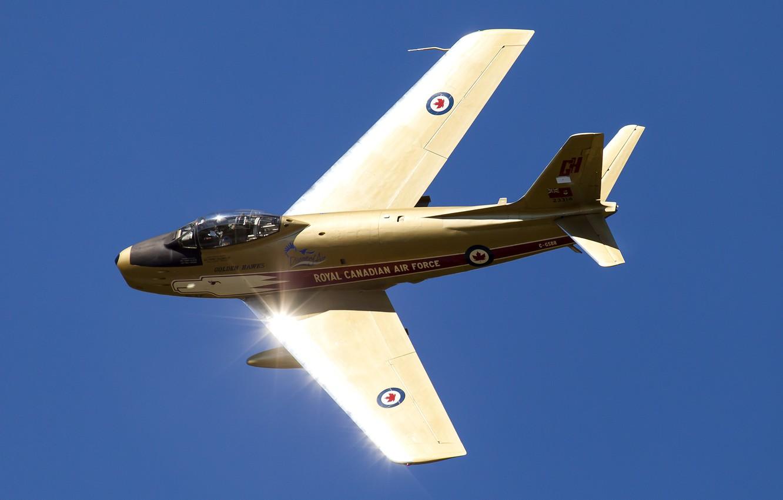 Обои sabre v, реактивный, истребитель, Canadair. Авиация foto 6