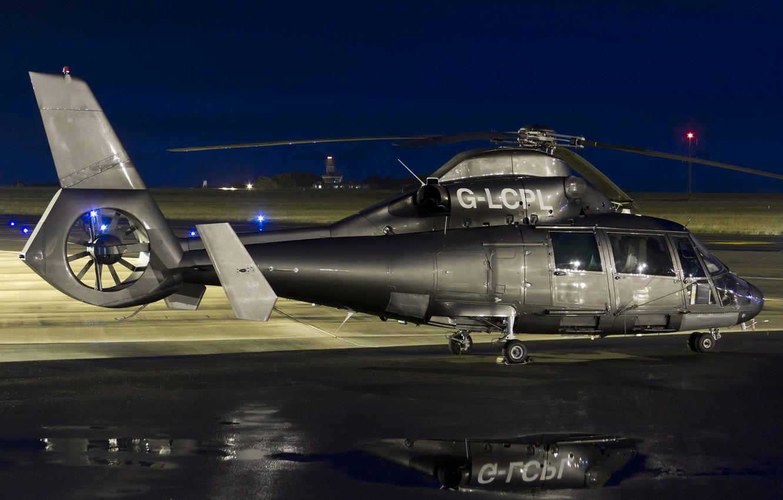 Обои sa-365n1, многоцелевой, Eurocopter. Авиация foto 9