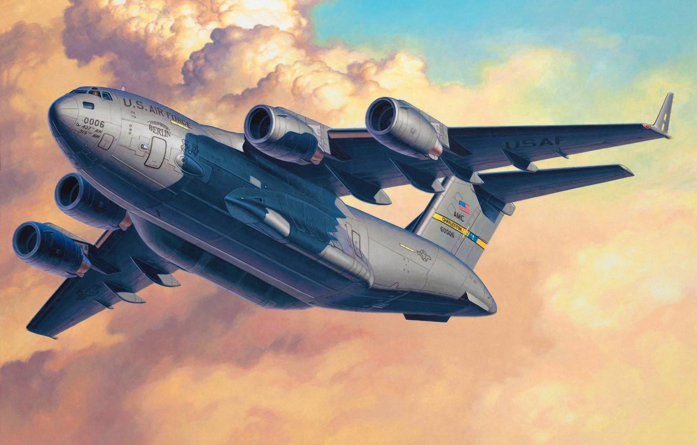 Обои самолеты, c-17 globemaster. Авиация foto 19