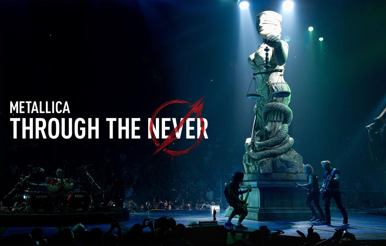 Фото обои металл, рок, Metallica, металлика, Through The Never