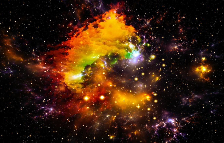 Обои space, universe, stars, background, вселенная. Абстракции foto 12