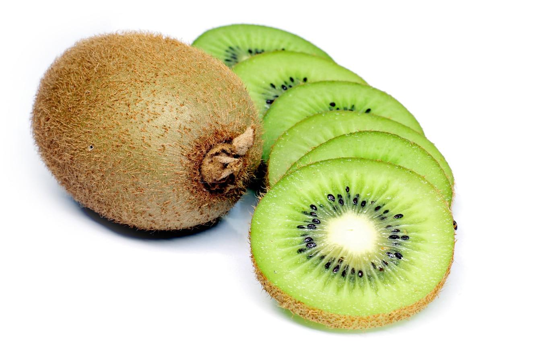 Фото обои green, fruit, kiwi