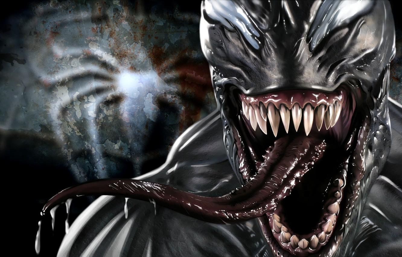 Фото обои Marvel Comics, Venom, Eddie Brock, Symbiote