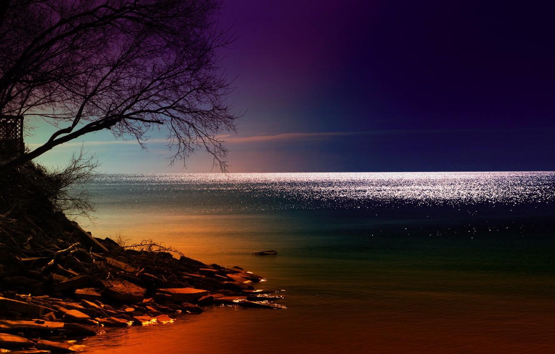 картинки ночь на побережье напоил трахнул