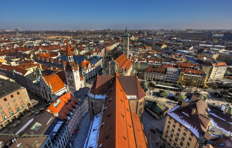 Обои мюнхен, здания, крыши, Munich, Germany, германия. Города foto 6