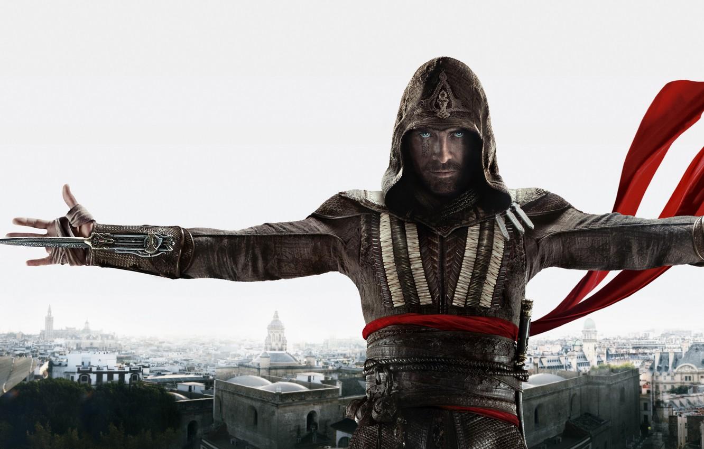 Фото обои Assassins Creed, Фильм, Ubisoft, Assassin's Creed, Ассасин, Michael Fassbender, Майкл Фассбендер, Кредо Убийцы, 20th Century …