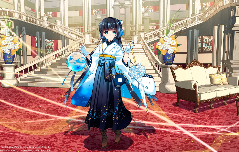 Фото обои Anime, Mascot, Suishou Shizuku, Crystal Dsik Info, WQXGA+, Software