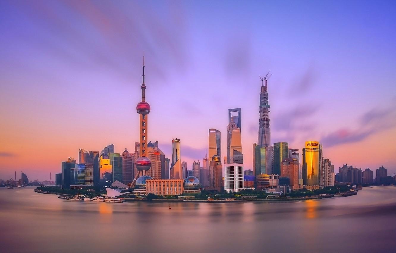 Обои свет, Город, Кнр, шанхай, shanghai, утро, китай. Города foto 8