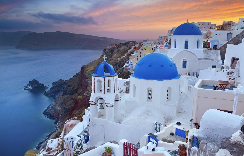 Обои побережье, greece, coast, греция. Города foto 6