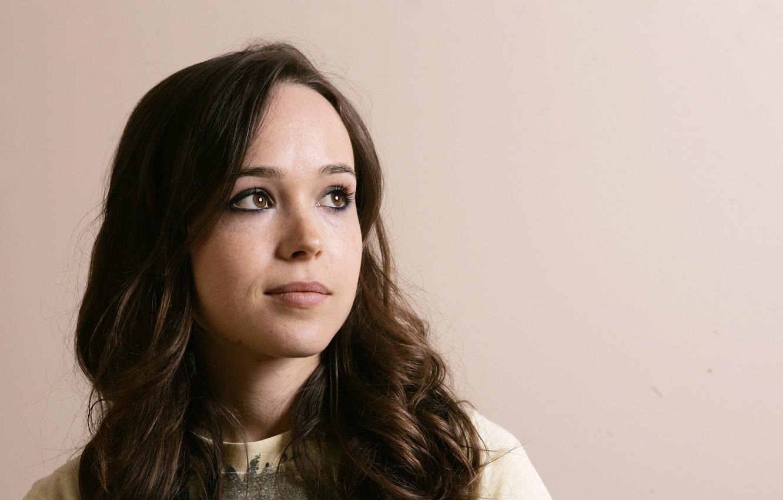 Фото обои девушка, актриса, брюнетка, Эллен Пейдж, Ellen Page