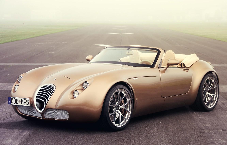 Фото обои Cars, Wallpaper, Wiesmann Roadster MF5, Wiesmann Auto-Sport