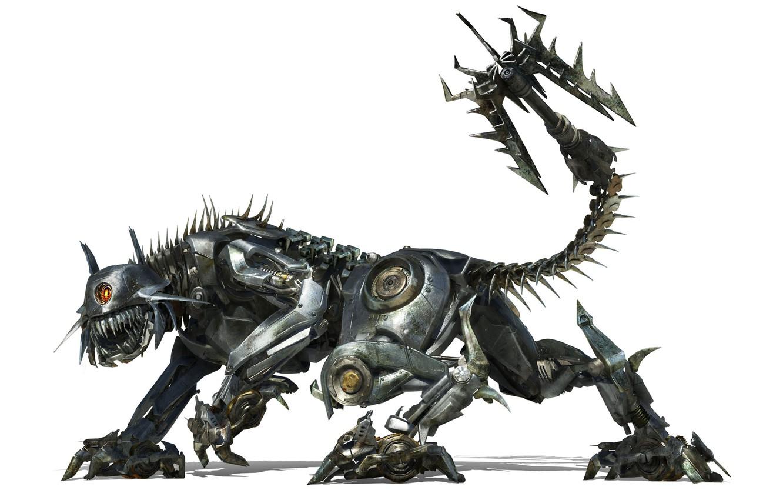 Фото обои трансформеры, робот, киса