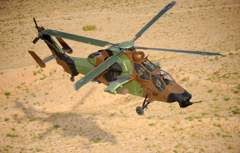 Обои ec 665, ударный, Tiger, Eurocopter. Авиация foto 7
