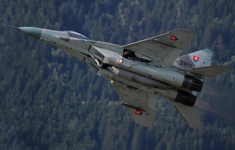 Фото обои истребитель, многоцелевой, MiG-29, МиГ-29