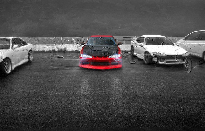 Фото обои авто, стоянка, Silvia, Nissan