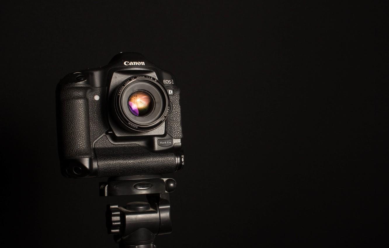 Фото обои макро, фон, камера, Canon EOS-1D Mark II N